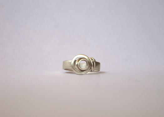 silver/ring baumeister silver circles